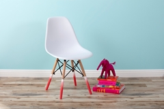 DIY Upcycled Spray Painted Chairs