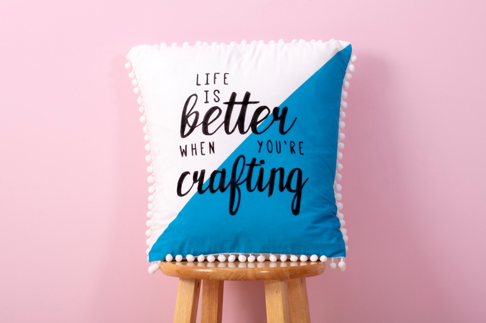 Picture of Easy Quote Art Pillow