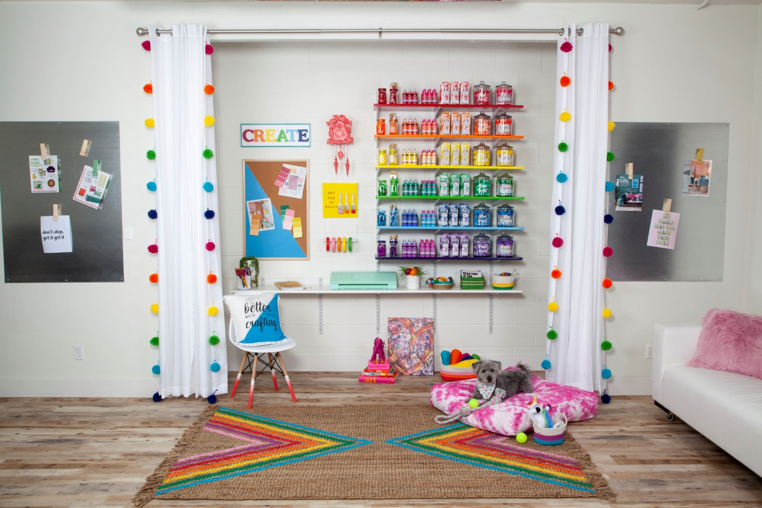 Picture of Tulip Color Story Craft Room Makeover