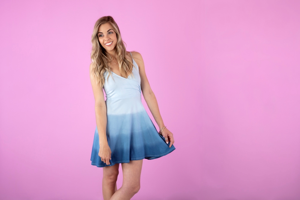 Picture of Dip Dye Ombre Dress