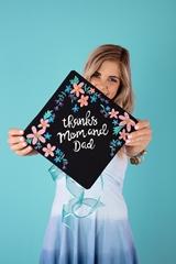 Picture of Custom Graduation Caps with Tulip