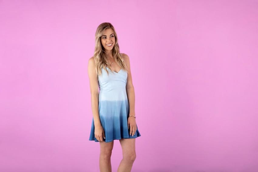 Dip Dye Ombre Dress