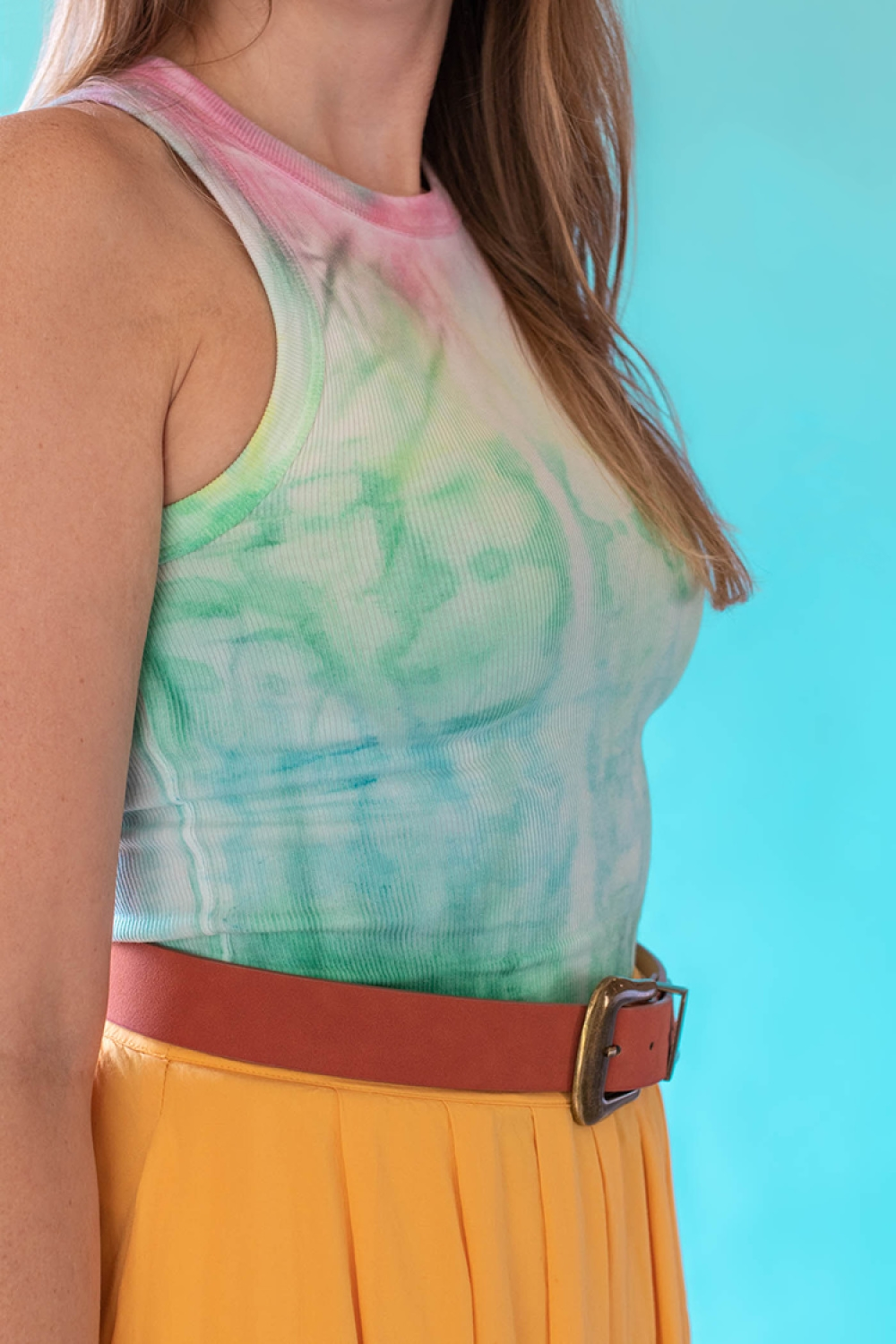 DIY Tie Dye With Fabric Paint