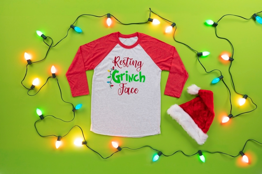 Make Your Own Festive Christmas Tee