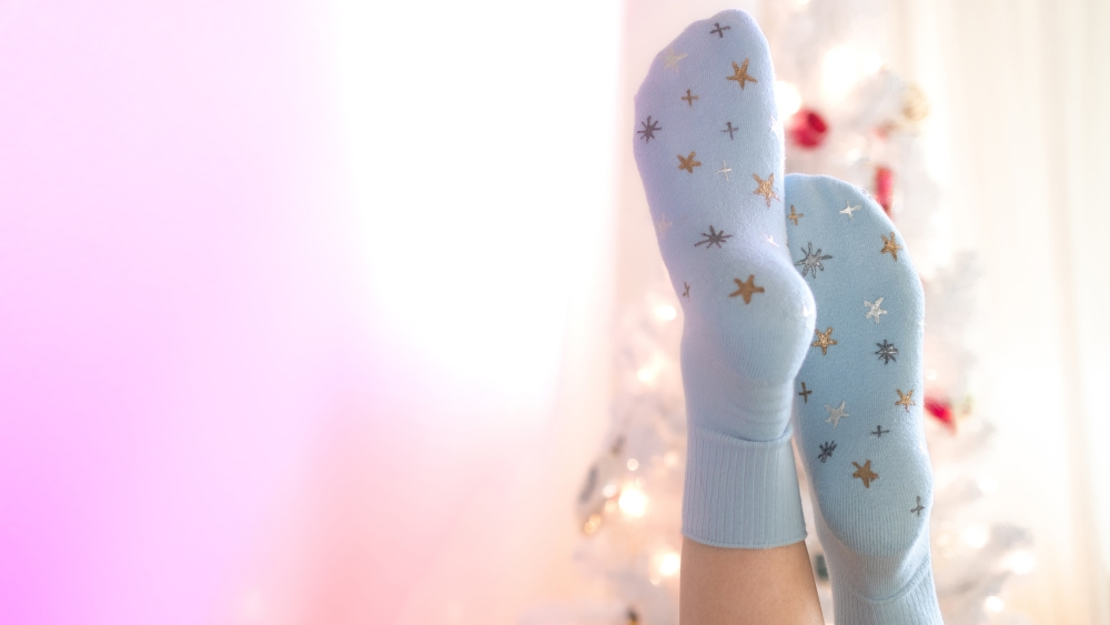 Picture of Starry Grip Socks