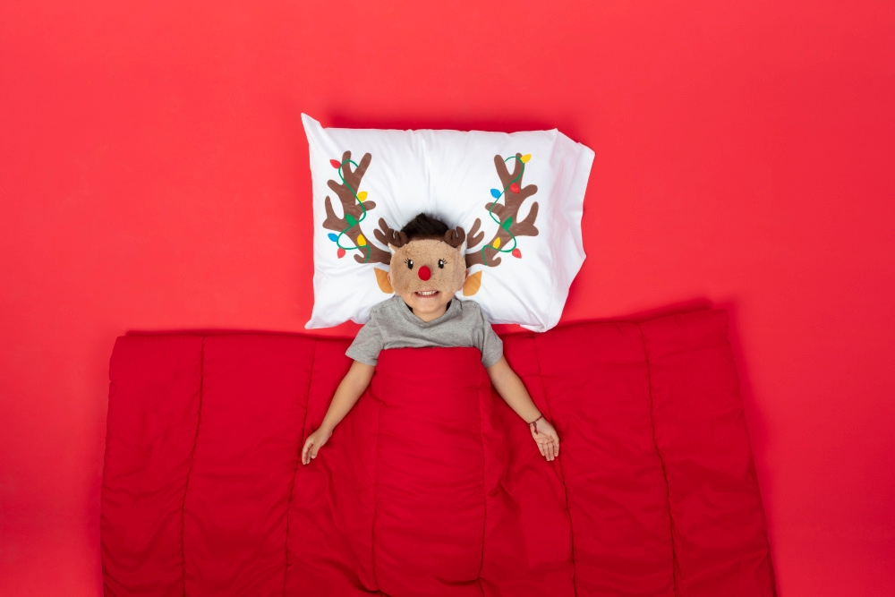 DIY Reindeer Pillowcase