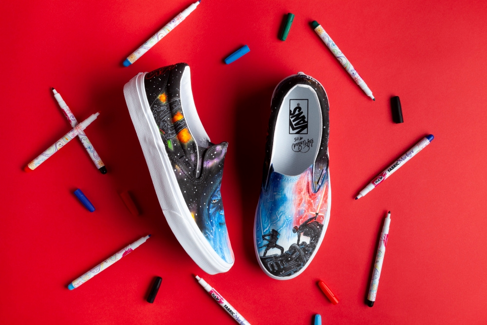 Show details for Custom Star Wars Inspired Shoes