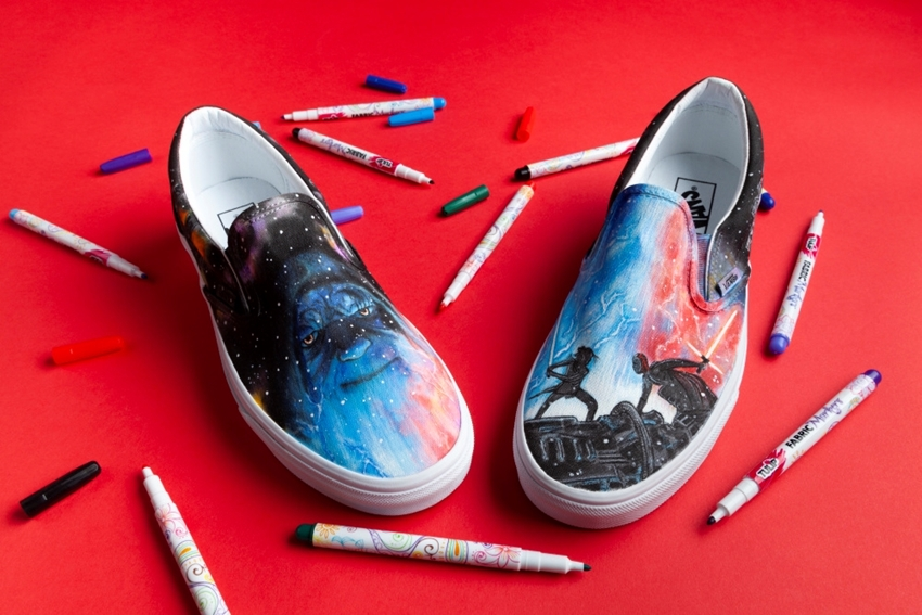 Custom Star Wars Inspired Shoes