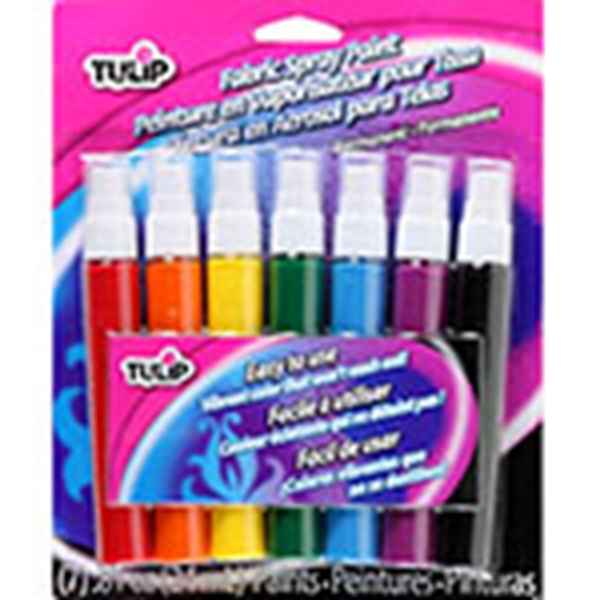 Picture of Fabric Spray Paint Mini 7 Pack
