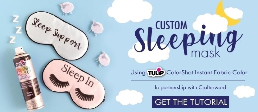 Tulip ColorShot Sleeping Mask Project