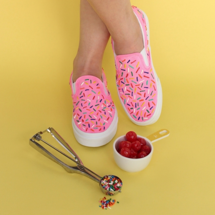 Summer Craft Idea: Tulip Sprinkles Shoes