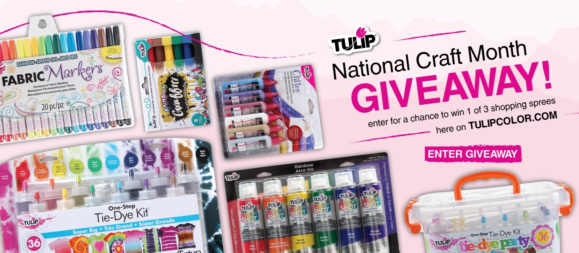 National Craft Month Tulip Giveaway