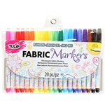 Picture of Fine Tip Rainbow Fabric Markers 20 Pack