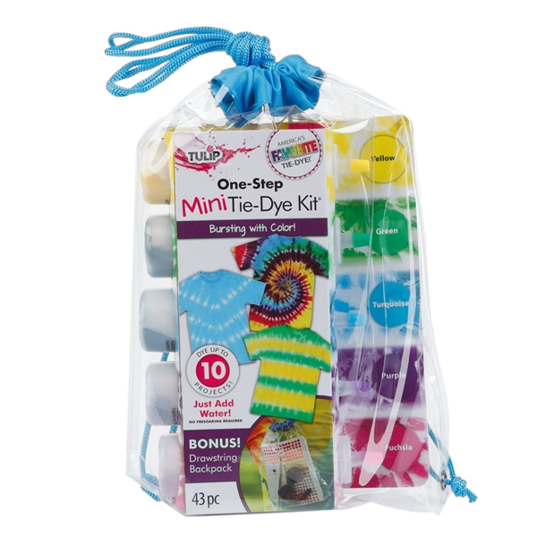Picture of Drawstring Bag Mini Tie-Dye Kit