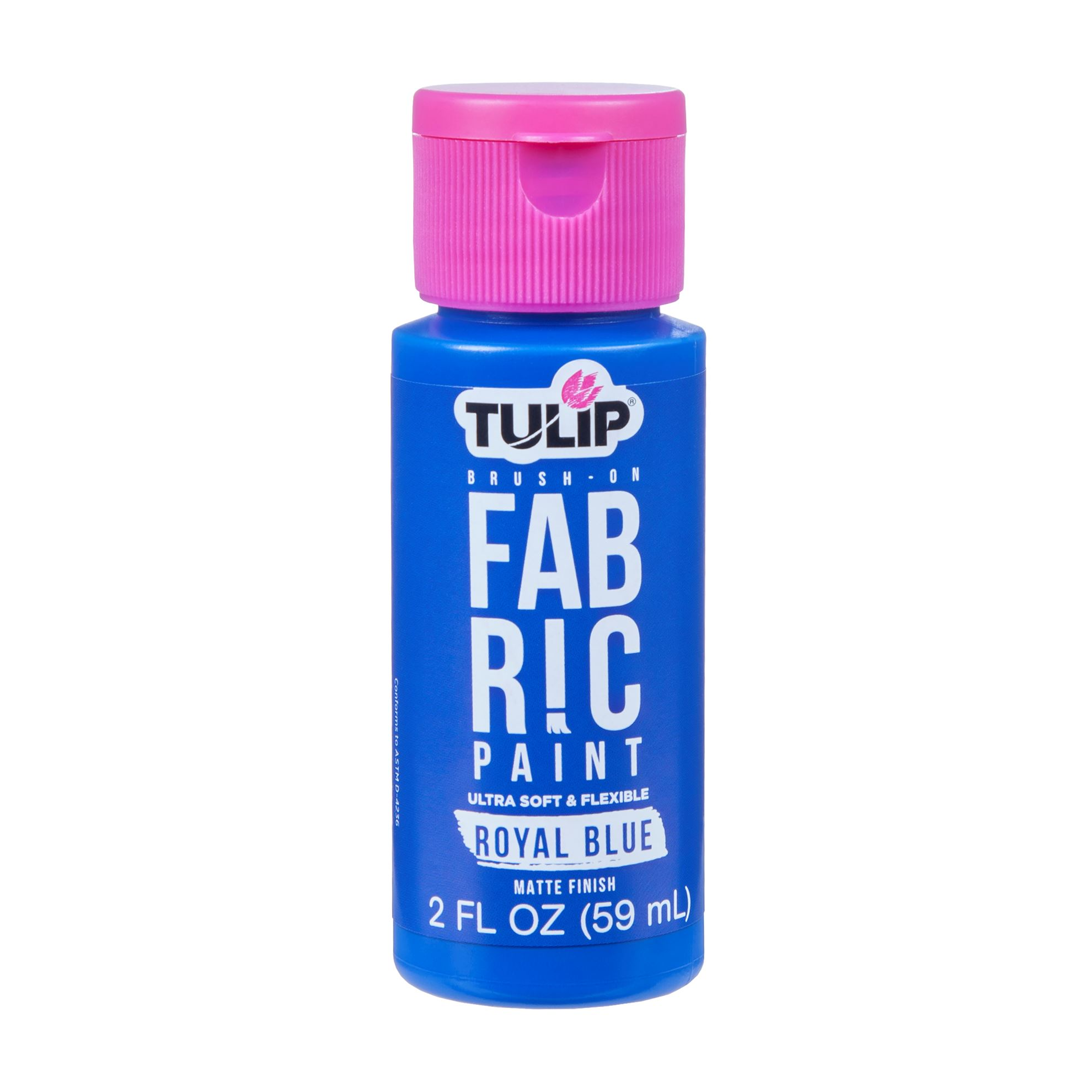 Picture of Brush-On Fabric Paint Royal Blue Matte