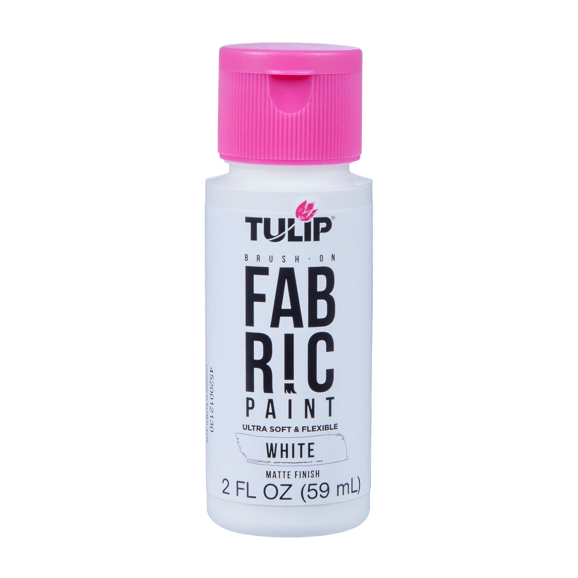Picture of Brush-On Fabric Paint White Matte