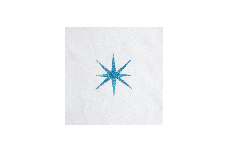 Picture of Dazzling Glitter Brush-On Fabric Paint Dazzling Aquamarine 2 oz.