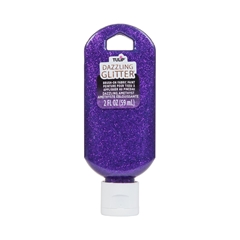 Picture of Dazzling Glitter Brush-On Fabric Paint Dazzling Amethyst