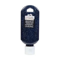 Picture of Dazzling Glitter Brush-On Fabric Paint Dazzling Onyx
