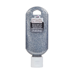 Picture of Dazzling Glitter Brush-On Fabric Paint Dazzling Silver