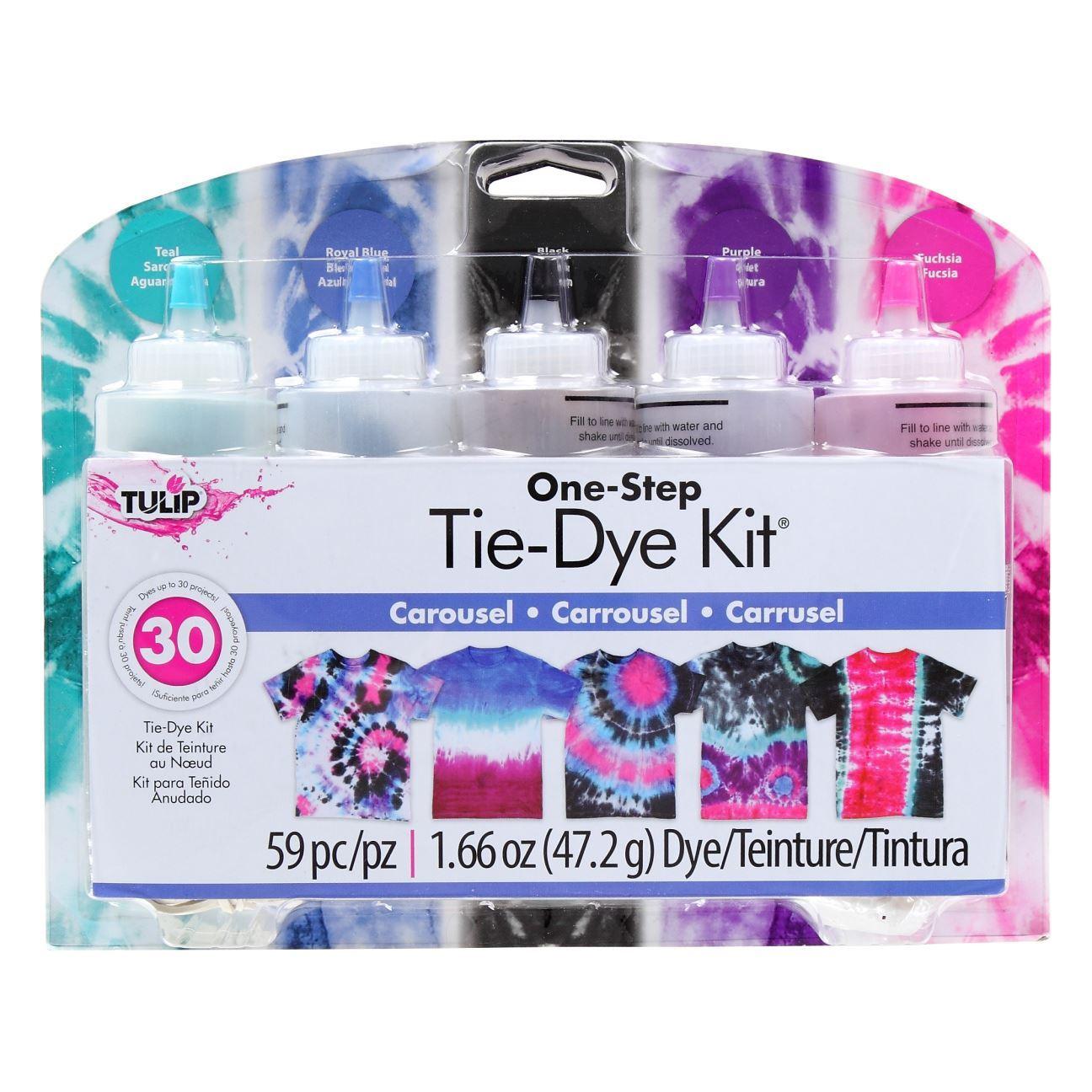 Carousel 5-Color Tie-Dye Kit