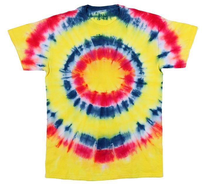 Psychedelic Bullseye Tie Dye