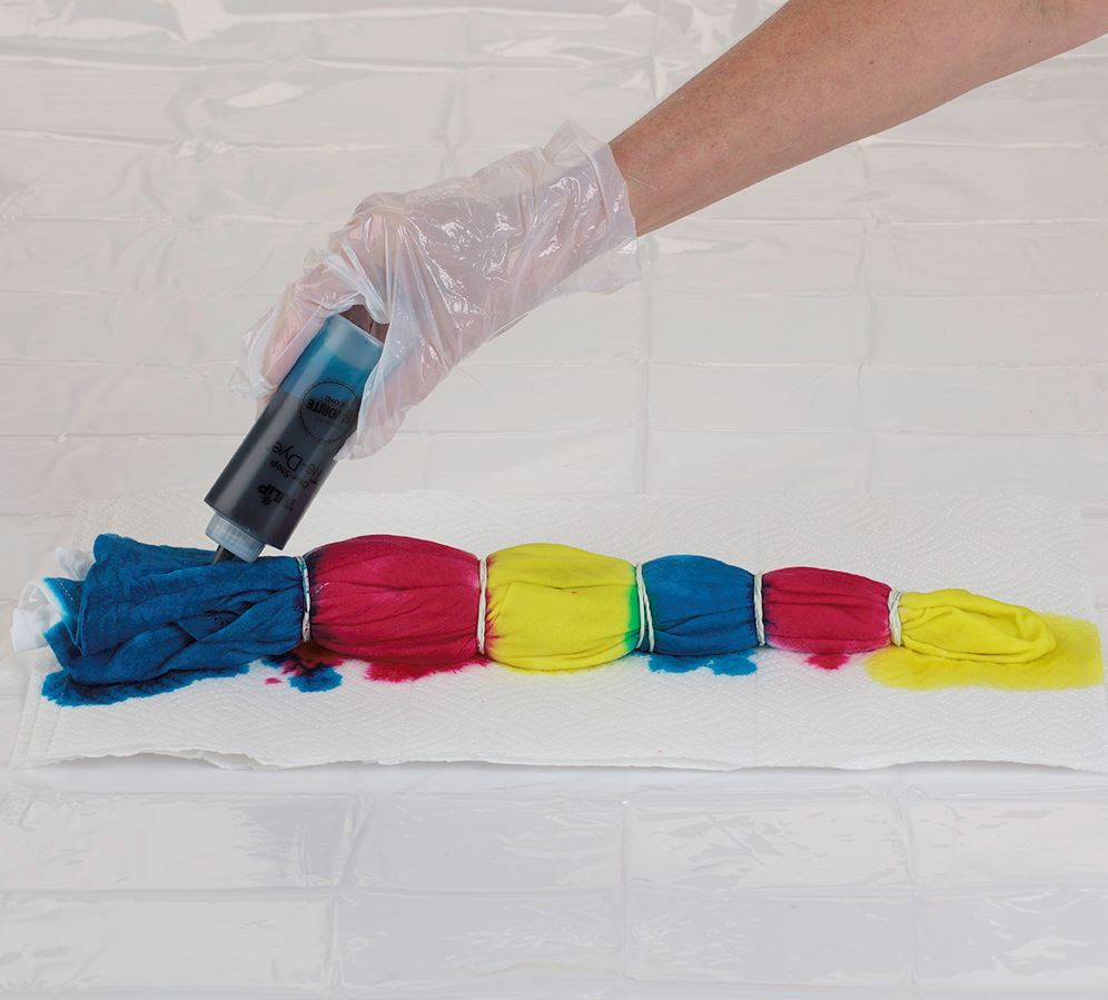 Psychedelic Tie Dye Process