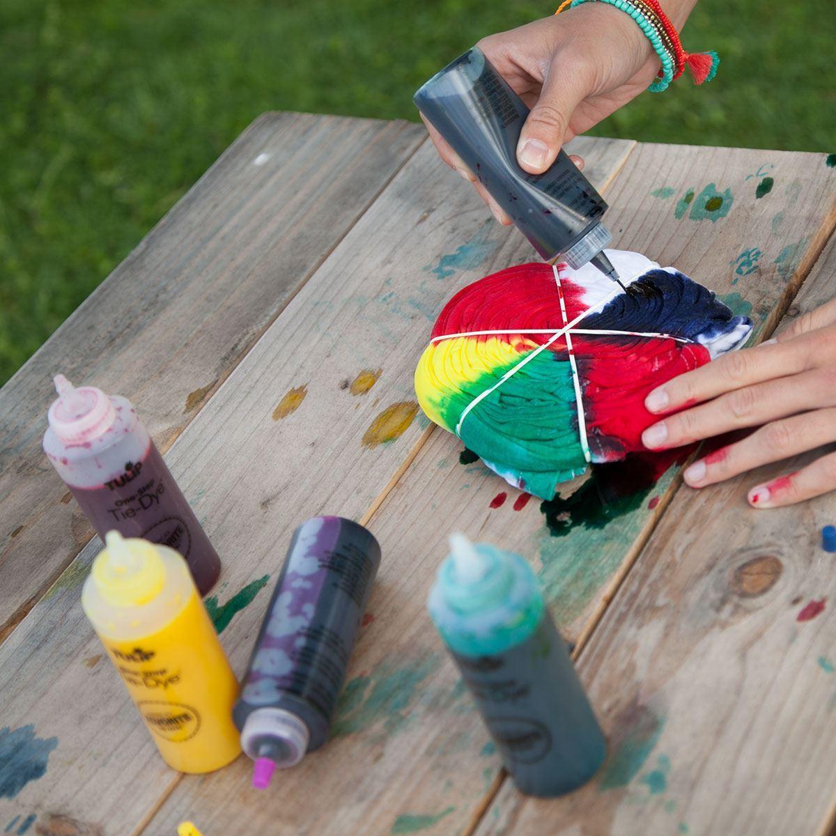 Spiral Tie Dye Pattern