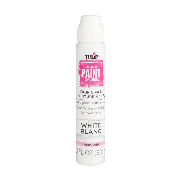 Picture of Tulip® Fabric Paint Dauber White