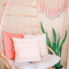 Picture of Pastel Watercolor DIY Tassel Pillows