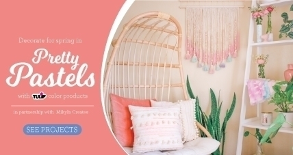 Spring Pastel Projects