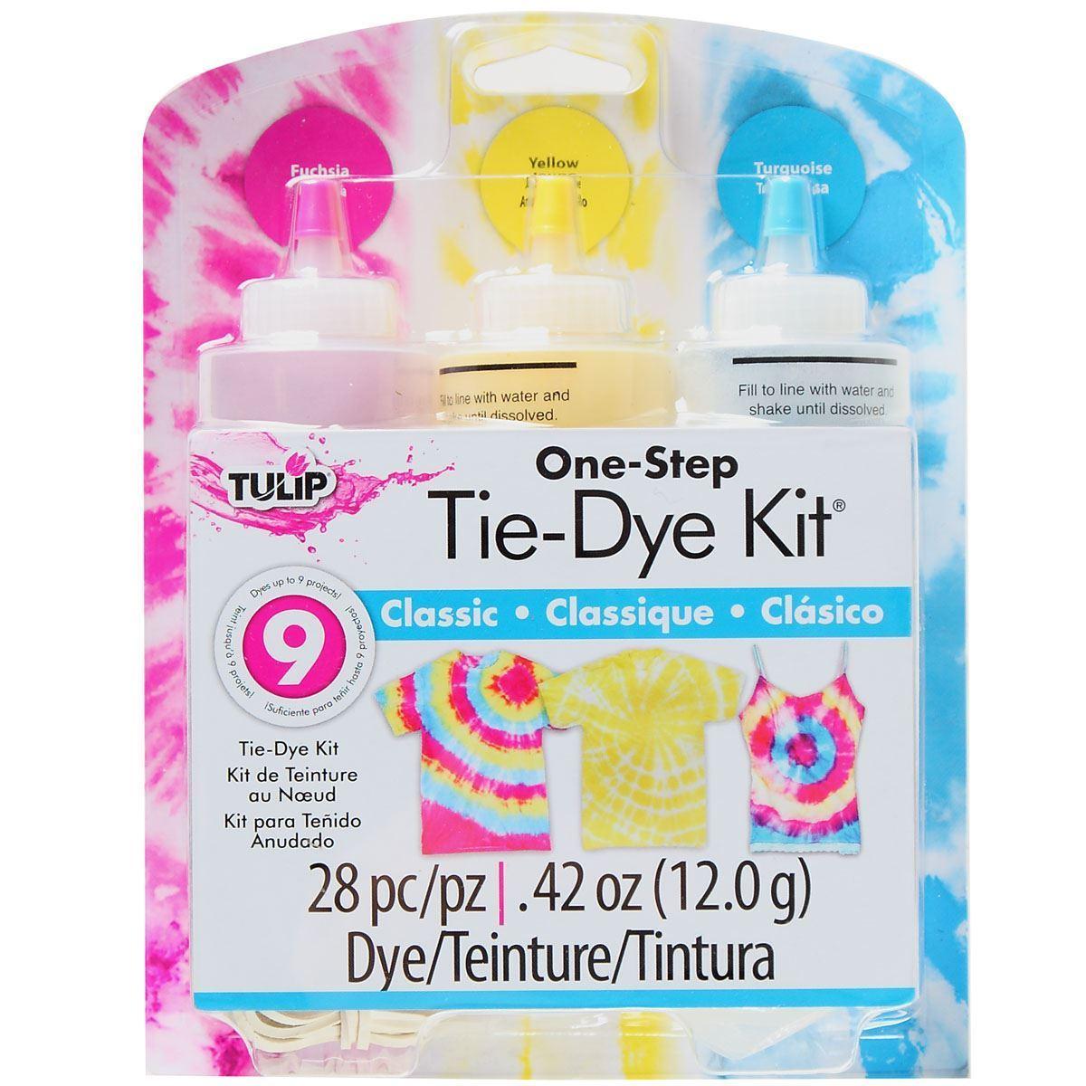 Classic 3-Color Tie-Dye Kit