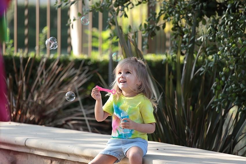 Tulip Summer Crafts for Kids - Tie-Dye T-shirt