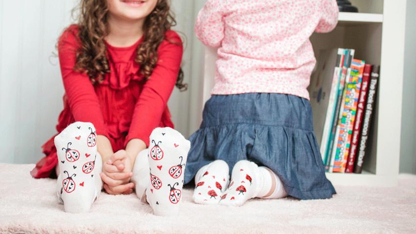 Tulip Summer Crafts for Kids - DIY Non-Slip Socks