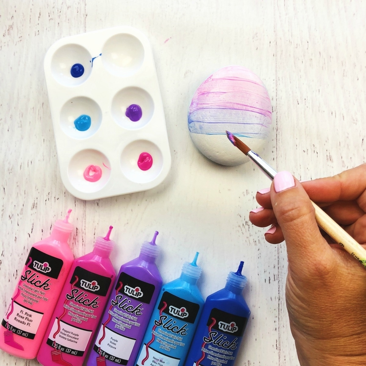 Brush on a base coat of Dimensional Paint