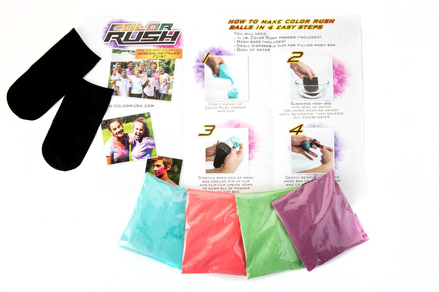 Picture of ColorRush 4-Player Party Kit Primary