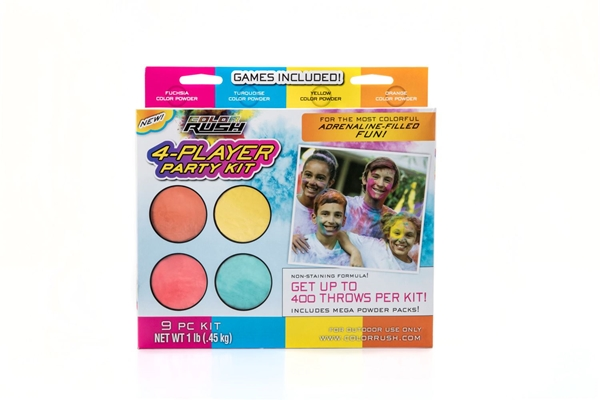 Picture of ColorRush 4-Player Party Kit Brights