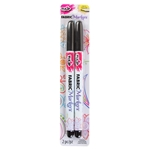 Picture of Fine-Tip Fabric Markers Black 2 Pack