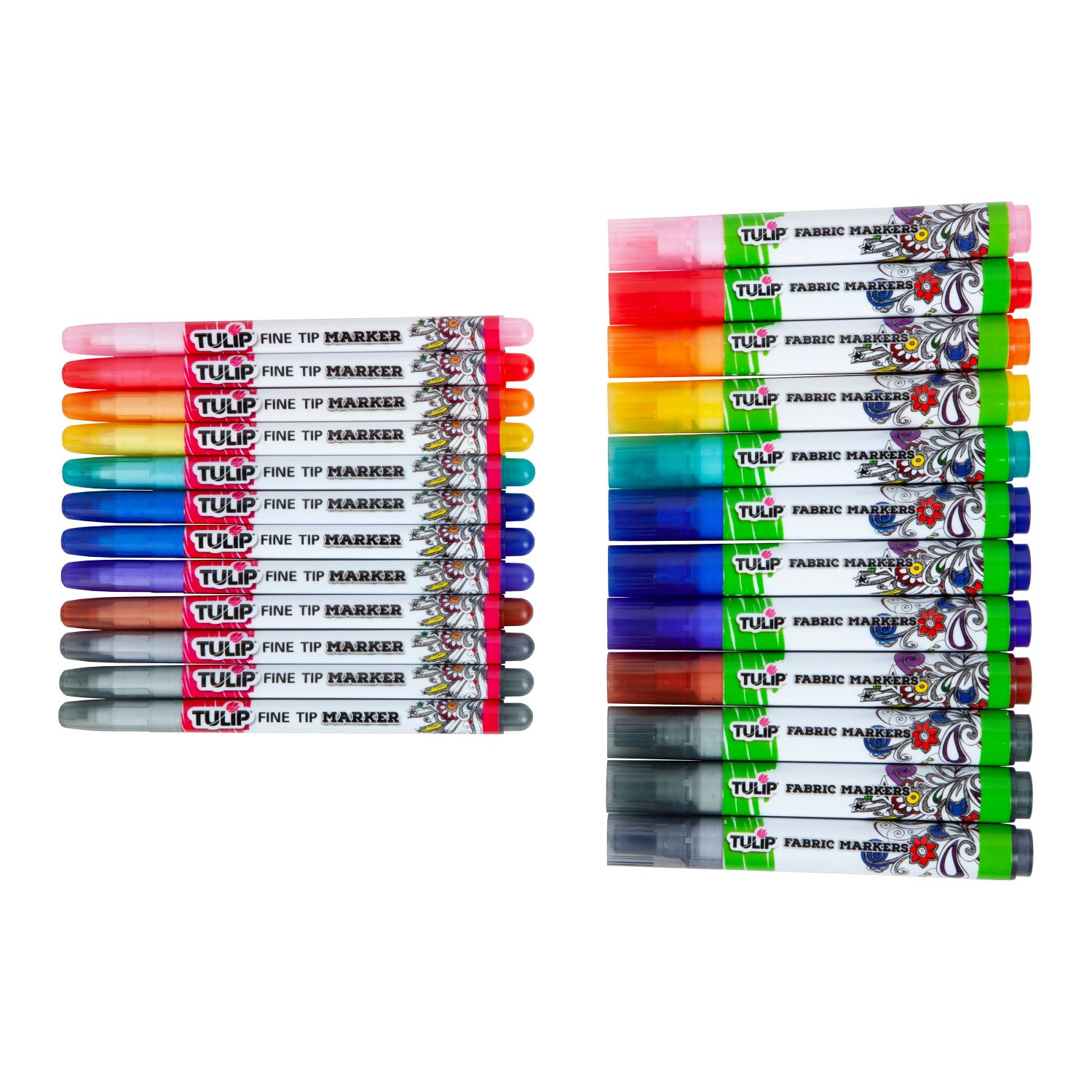 Picture of Ultimate Fabric Marker Rainbow 24 Pack