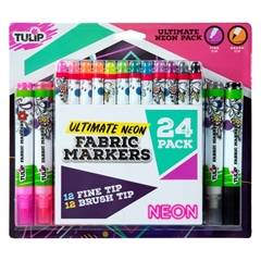 Picture of Ultimate Fabric Marker Neon 24 Pack