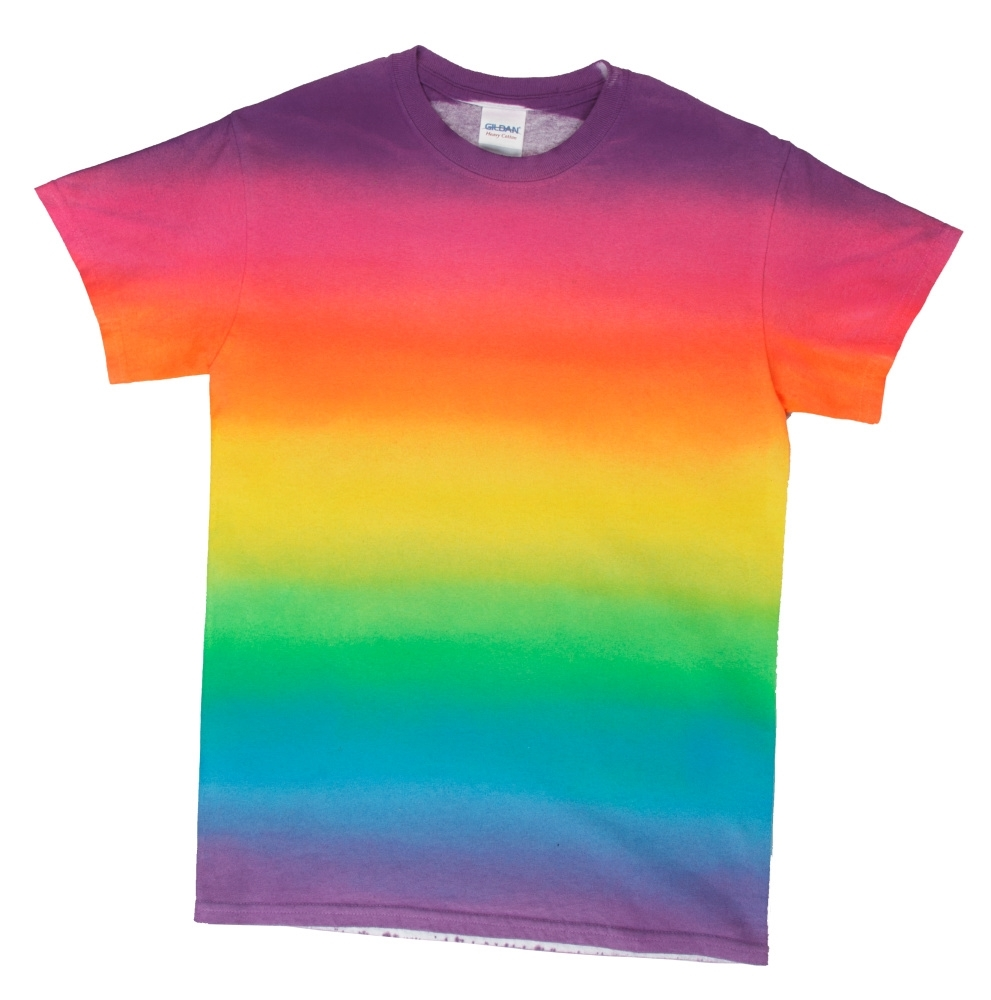 6 New Ways to Tie Dye with Spray-On Color - ombre spray dye