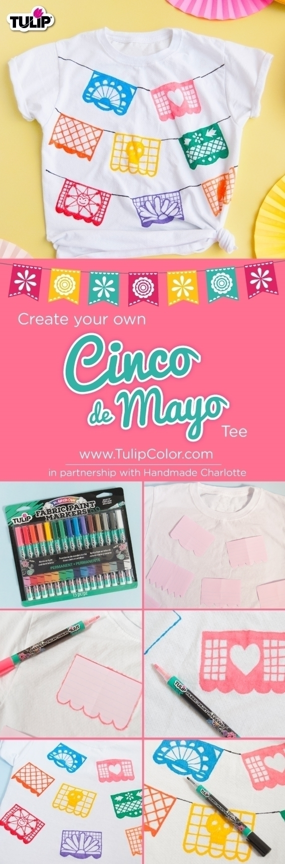 Tulip Fabric Markers Papel Picado T-shirt