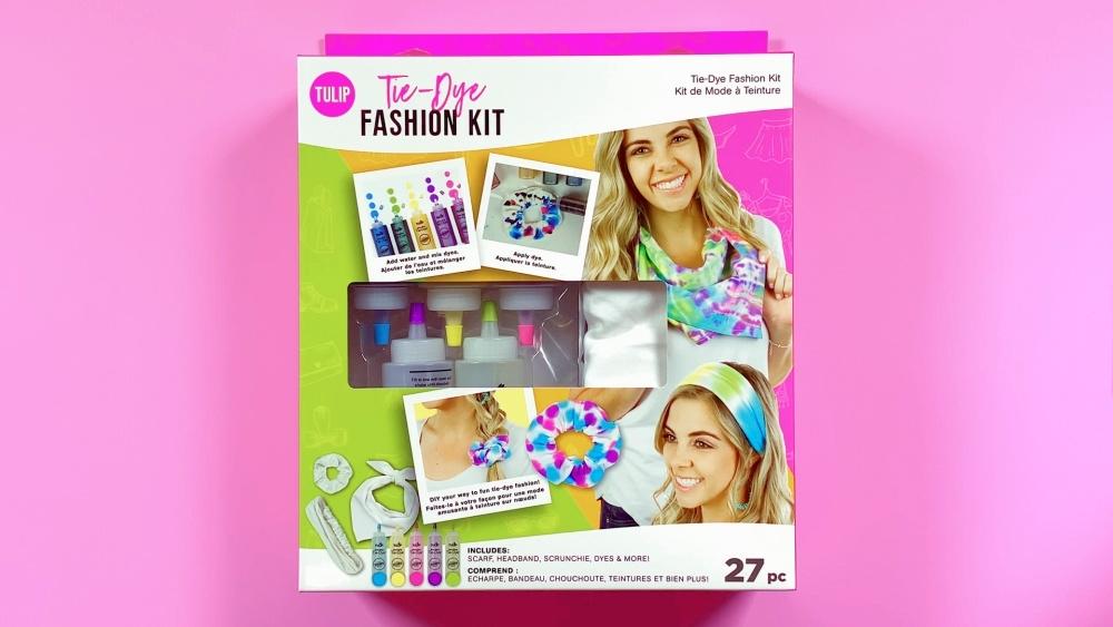 Picture of Tulip Tie-Dye Fashion Kit