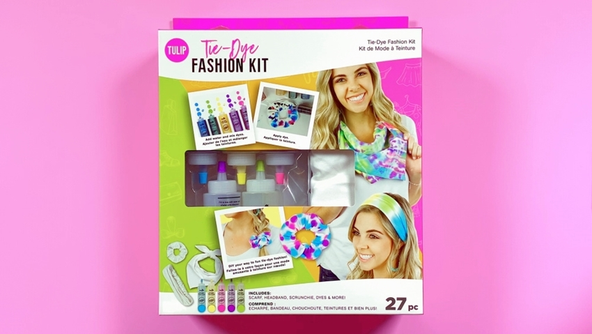 Picture of Tulip Tie-Dye Fashion Kit
