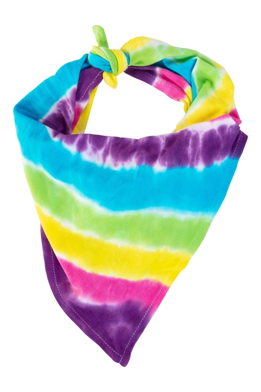 Tulip Tie-Dye Fashion Kit - stripe tie-dye scarf
