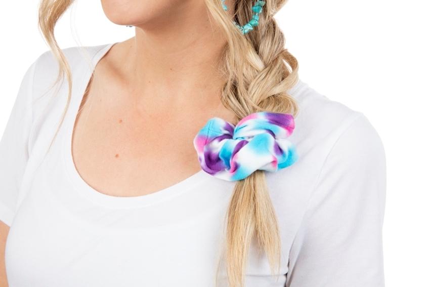 Tulip Tie-Dye Fashion Kit - dyed scrunchie
