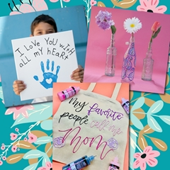 Dimensional Paint Mother's Day Gifts