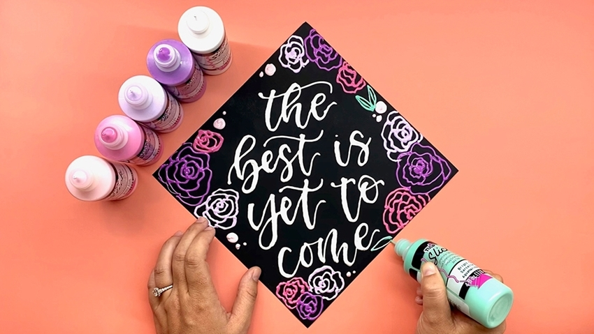 Picture of Decorate a Graduation Cap with Tulip Dimensional Paint