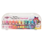 Picture of One-Step Tie-Dye Kit Carnival 12-Pc. Mini Kit