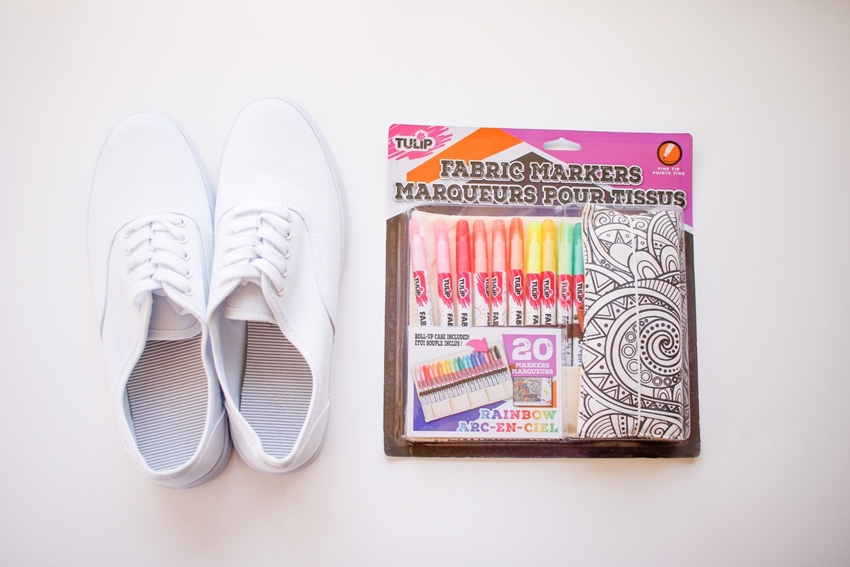 90s Fashion Inspiration DIY Favorite TV Show Shoes – first practice designs on scratch paper